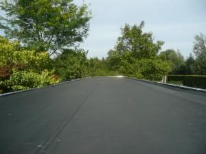 72 m2 EPDM dakbedekking uit 1 stuk