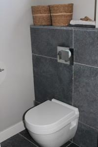 Toilet geïnstalleerd