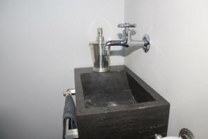 Fonteintje toilet