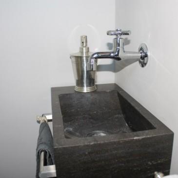 Verbouwing toilet en badkamer